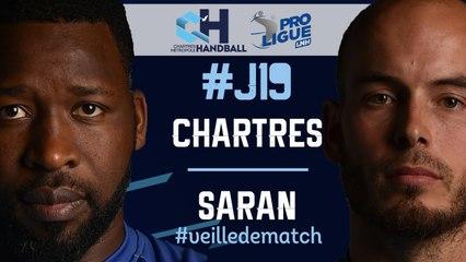 #J19 : CHARTRES - SARAN #veilledematch
