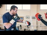 MASSIVE ATTACK! David Price has still got THE POWER (smashes pads)