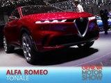 Alfa Romeo Tonale en direct du salon de Genève 2019
