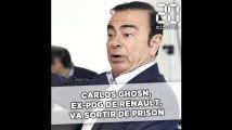 Carlos Ghosn, ex-PDG de Renault, va sortir de prison au Japon