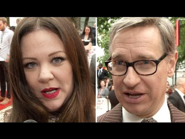 Spy Premiere Interviews