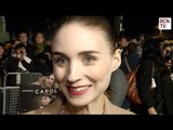 Rooney Mara Interview Carol Premiere