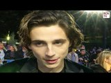 Timothee Chalmet Interview Call Me By Your Name Premiere