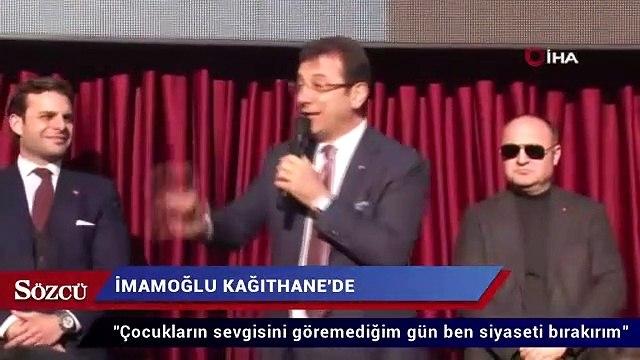İmamoğlu'na vatandaştan sevgi gösterisi