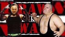 King Kong Bundy vs. Jeff Hardy WWF Raw