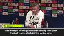 (Subtitled) UCL progression is not 'mission impossible', says Solskjaer ahead of PSG match