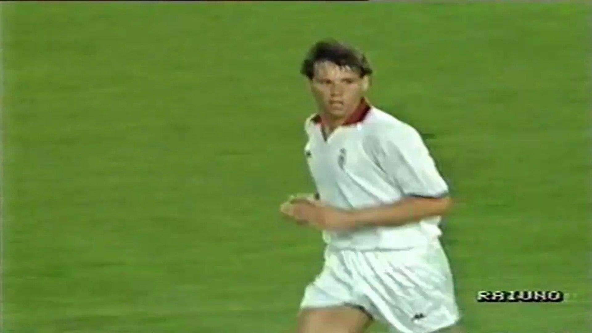 Marco van Basten ● Skills ● AC Milan 1:0 Benfica ● European Champion Clubs' Cup Final 1989-90