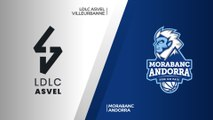 LDLC ASVEL Villeurbanne - MoraBanc Andorra Highlights | 7DAYS EuroCup, QF Game 1
