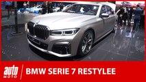 BMW Série 7 restylée : premières impressions au salon de Genève