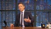 Seth Meyers Celebrates Late Night's Five-Year Anniversary
