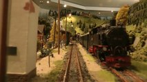 Cab ride on a mountain model railway layout with tunnel and track spiral | Pilentum Television - The world of model trains