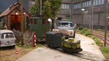 Industrial railroad of a former paper factory in East Germany - French model railroad diorama | Pilentum Television - The world of model trains