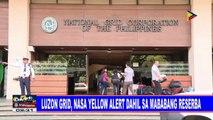 Luzon grid, nasa yellow alert dahil sa mababang reserba