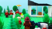 LEGO Incredibles STOP MOTION LEGO Incredibles Escape Brick Building | Incredibles 2 | Billy Bricks