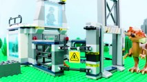 LEGO Jurassic World STOP MOTION LEGO Jurassic World: Stygimoloch Breakout | #LEGO | Billy Bricks