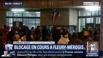 Une centaine de surveillants bloque la prison de Fleury-Mérogis ce matin après l'attaque à Condé-sur-Sarthe