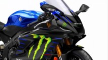New Yamaha YZF-R1/ YZF-R6 Livery Monster Energy MotoGP 2019 | Mich Motorcycle