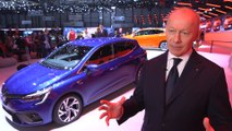 Renault at Geneva Motor Show 2019 - Interview with Thierry Bolloré CEO of Renault Group