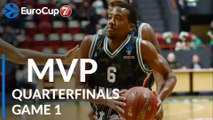 7DAYS EuroCup Quarterfinals Game 1 MVP: Errick McCollum, UNICS Kazan
