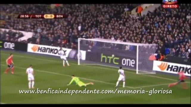 Tottenham-1 Benfica-3: golo de Rodrigo