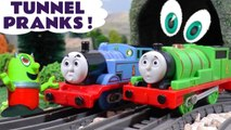 Thomas and Friends Tunnel Mystery as a Ghost Pranks the toys, or is it? Featuring Funny Funlings and Dinosaur Toys for kids in this Family Friendly Full Episode English Story for kids