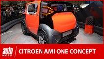 Citroen Ami One : un nouveau concept d'autopartage au salon Genève