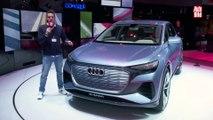 VÍDEO: Audi Q4 e-tron Concept el nuevo SUV compacto 100% eléctrico