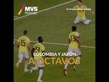 Colombia y Japón a octavos
