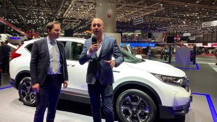 Découvrez les Honda e Prototype et CR-V Hybride au Salon de Genève 2019