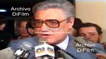 Eduardo Angeloz possibility of advancing the presidential mandate 1989