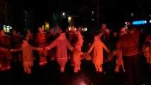 Carnaval de Binche le feu d'artifice du mardi soir 1