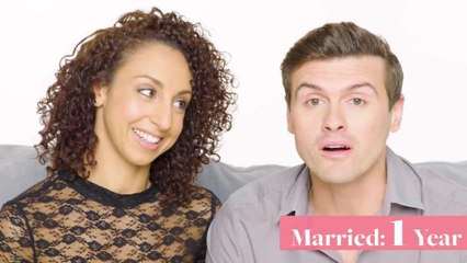 Couples Married for 0-65 Years Answer: When Did You Know You Were In Love?