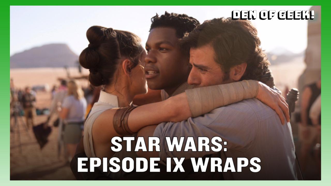 Star Wars: Episode IX Wraps Production