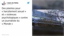 Huit salariées du Monde portent plainte pour «violences psychologiques» et «harcèlement sexuel»