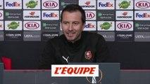 Stéphan «Il y a de la joie, pas d'excitation» - Foot - C3 - Rennes