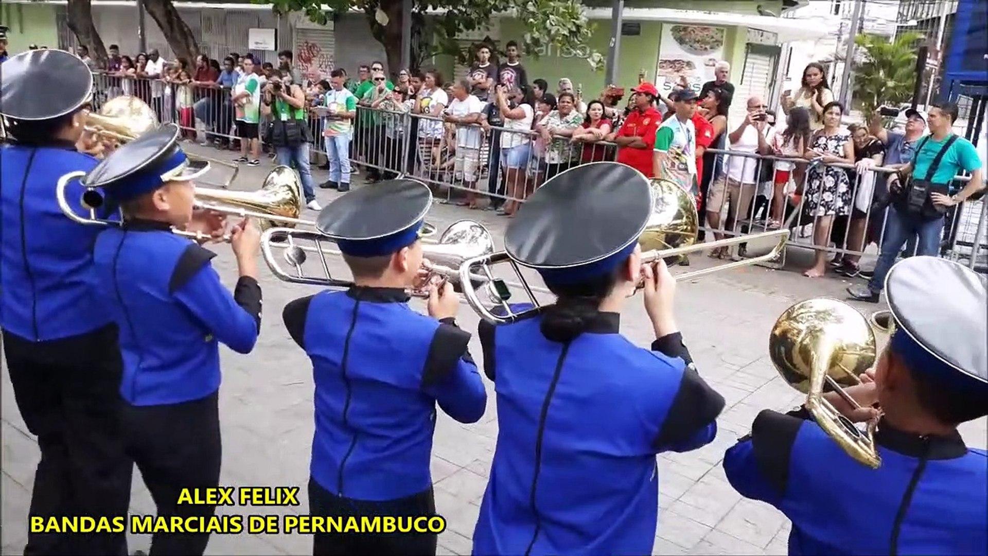 CNBF - 2018 _ Banda Marcial Abdon Ferreira de Carvalho _ CAMPEONATO NACIONAL DE BANDAS E FANFARRAS