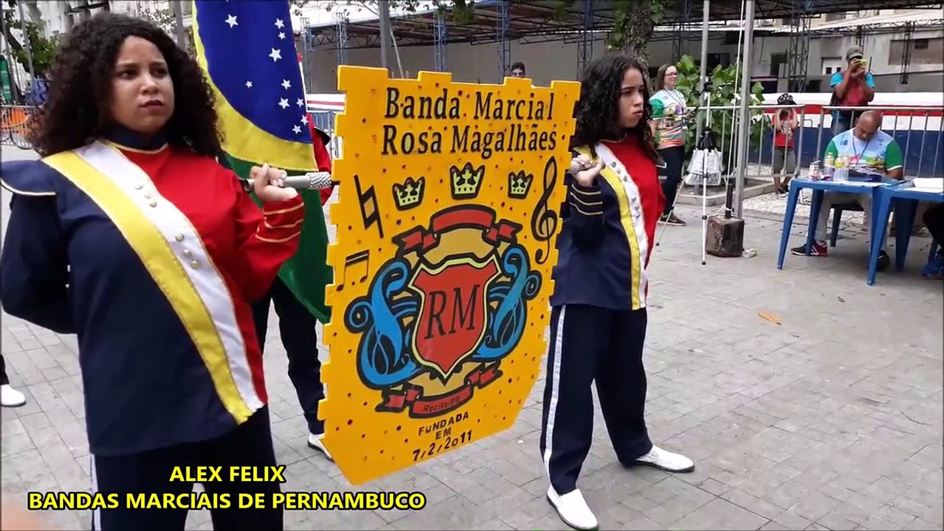 CNBF - 2018 _ Banda Marcial da E.E. Rosa Magalhaes de Melo _ CAMPEONATO NACIONAL DE BANDAS