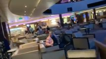 Les passagers d'une croisière ont cru mourir à cause d'une violente tempête