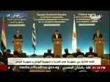 صدى البلد   كلمة الرئيس القبرصي في القمة الثلاثية بين مصر وقبرص واليونان