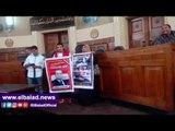 صدى البلد |انصار مبارك داخل المحكمة