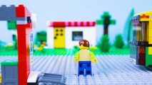 LEGO Celebration prty! STOP MOTION LEGO 100k prty with Minifigures   LEGO City   By Billy Bricks