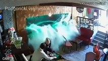 Un aquarium explose dans un bar sur des clients !