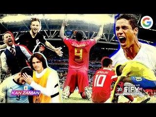 الكورة مش مع عفيفي #6 - ملخص دور ال 8 من كأس العالم 2018