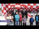 """فرقة للفنون الشعبية خلال احتفال """"السجون"""" بعيد الأم في سجن القناطر"""