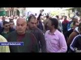 اللحظات الأولى فى بداية إعتصام تجار بورسعيد .. ومحاولات الشرطة لإنهاء الأعتصام