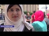 """طالبات عن دعوات خلع الحجاب : """"فريضة"""" والتخلي عنه ضد تقاليد الاسلام"""