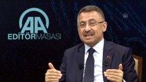 Cumhurbaşkanı Yardımcısı Oktay: 'S-400 ile alakalı ilk teslimatı temmuzda almayı düşünüyoruz' - ANKARA