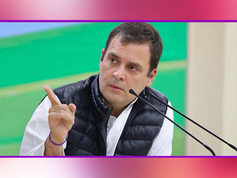 Rahul Gandhi ने Air Strike पर PM Modi को घेरा, शहीद के परिजन पूछ रहे कितने मारे? | वनइंडिया हिंदी
