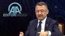 Cumhurbaşkanı Yardımcısı Oktay: 'Şu ayrımı hep yapıyoruz, bizim mücadelemiz terör örgütü iledir' - ANKARA