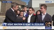 """""""Si c'est pour l'écologie c'est important."""" Des lycéens invités au débat avec Emmanuel Macron dans les Alpes-de-Haute-Provence prêts à rester assis six heures si besoin"""